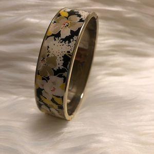 Vera Bradley Dogwood Metal Bangle Bracelet
